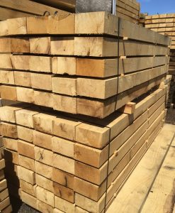 Oak Sleeper (L)1200x(W)225x(H)125mm-0