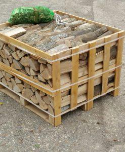 Kiln-Dried Ash Crate of Logs 0.8m-0