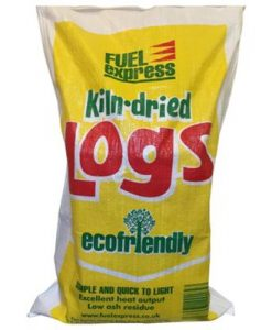 Fuel Express Kiln Dried Hardwood Logs - Large Bag approx 20kg -0